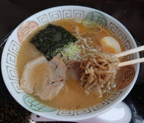 なると醤油(胡椒麺)/らーめんキッチン Naru-to