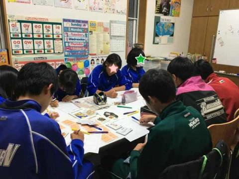 中2クラスの英語力