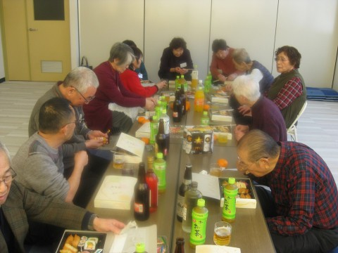 福寿会の定期総会と新年懇親会