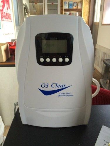 オゾン脱臭器 導入