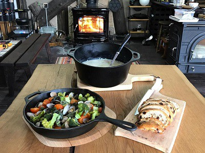 薪ストーブ料理教室やります!