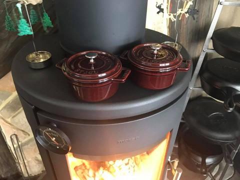 ミニ鉄鍋が使える!