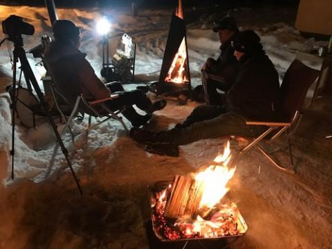 冬キャンプ!