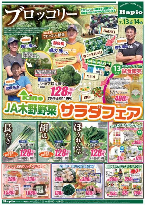 Hapio/ハピオ JA木野野菜サラダフェア