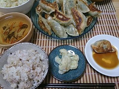 玉ねぎ餃子レシピとインフルエンザ予防