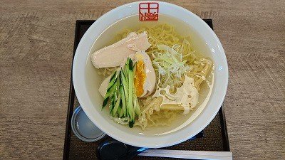 十勝麺処「澄Sumi」さんの「冷たい塩ラーメン」