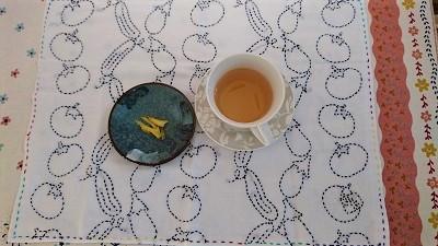 ゆず番茶の季節
