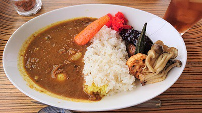 十勝にもダムカレーを!(願い)―三笠市「ミカサノ食堂」