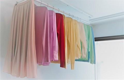 洗濯の時についたハンガーのあとを無くす方法
