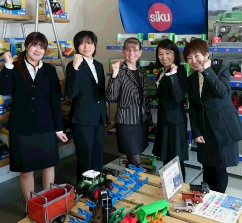 在札幌米国領事館より女性領事さんが来訪、「国際女子会」!?