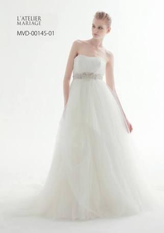ラトリエマリアージュのドレス