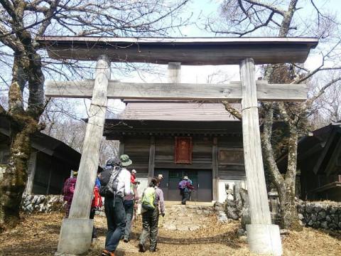 武甲山 山頂