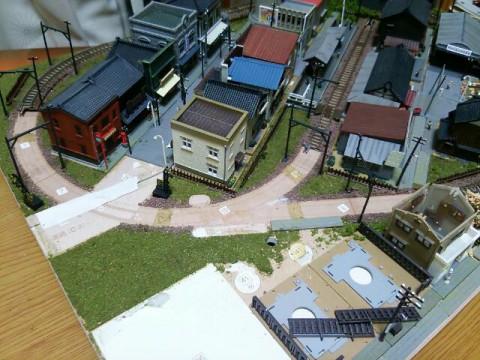 鉄道模型ジオラマ②