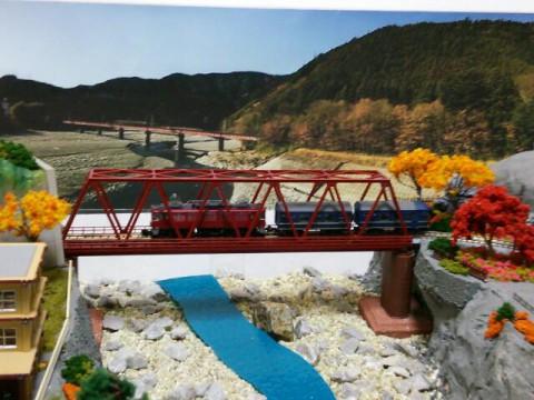 鉄道模型ジオラマ⑤