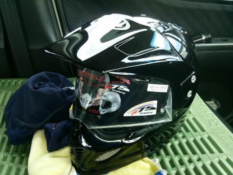 バイク用ヘルメット新調