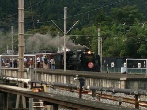 蒸気機関車の撮り鉄
