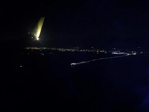 機上の風景