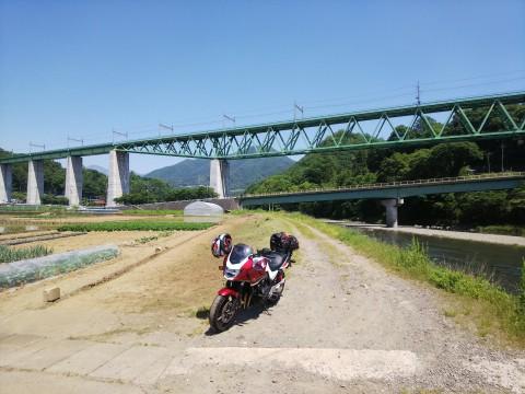 中央本線鳥沢橋梁