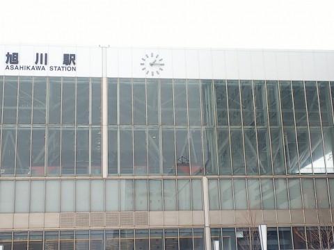 旭川駅のラッセル車