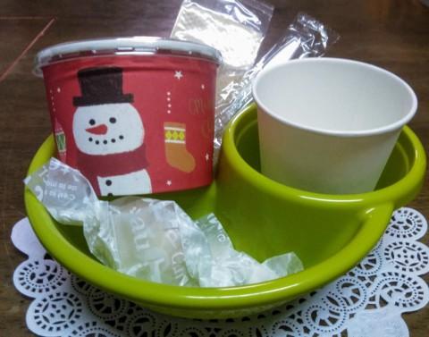 12月21日お茶会はクリスマス気分で