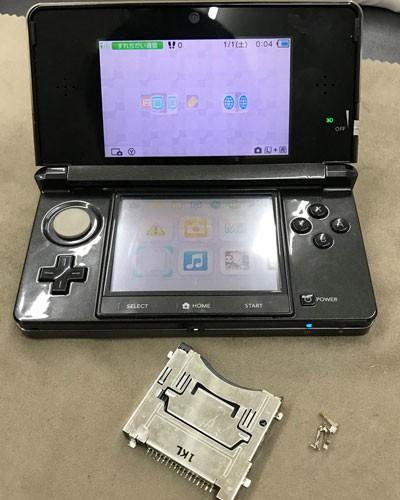 3DS ゲームソフトが反応しない? 最短修理2時間!