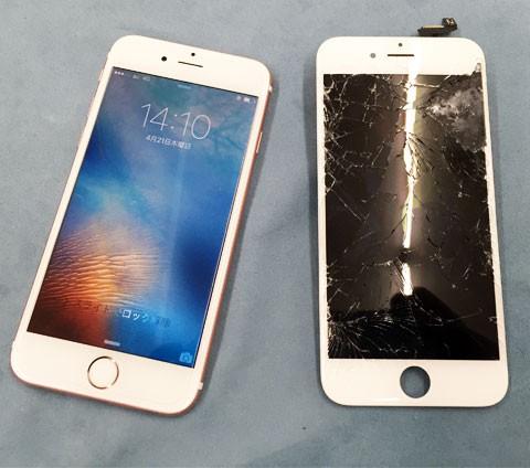 iPhoneの画面交換 その場でできます 最短10分~