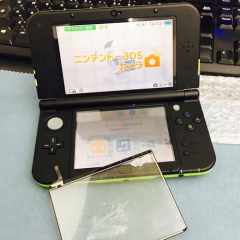 new 3DSLL操作が出来ない??最短修理1時間~