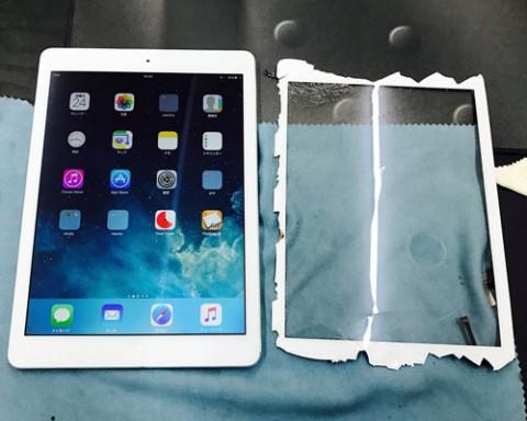 iPad Airのガラス交換可能! 最短2時間~