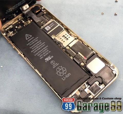 iPhoneのバッテリー交換 その場でできます 最短10分~
