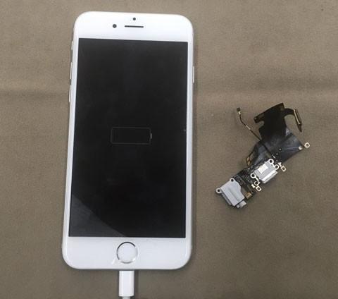 iPhone が反応しない!修理時間最短30分!