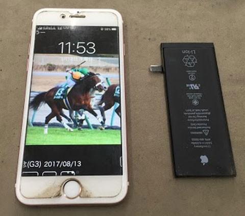 iPhoneのバッテリーの減りが早い人は交換時期かも!
