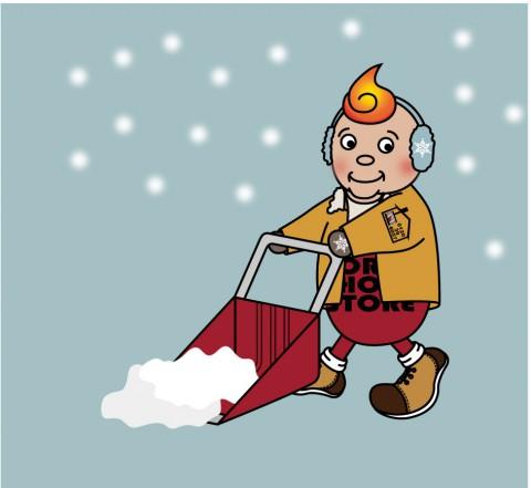 手作業除雪承っております!!!
