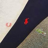 IZOD LACOSTE / Polo by Ralph Lauren / FRED PERRY