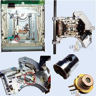 レーザーポインター自作改造する方法 dvdレーザーの作り方
