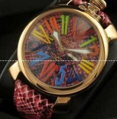 古典的な機能であるデザインガガミラノ コピー腕時計