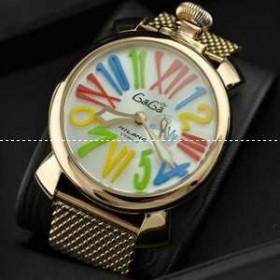 クラシックな雰囲気のガガミラノ コピー 時計