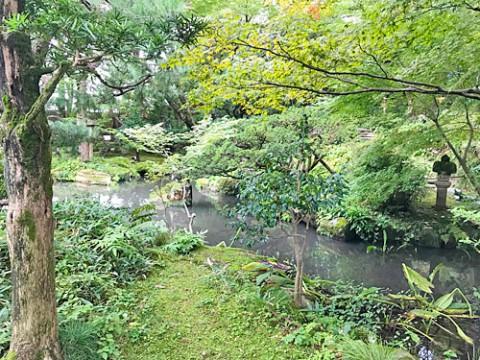 西田家庭園 玉泉園