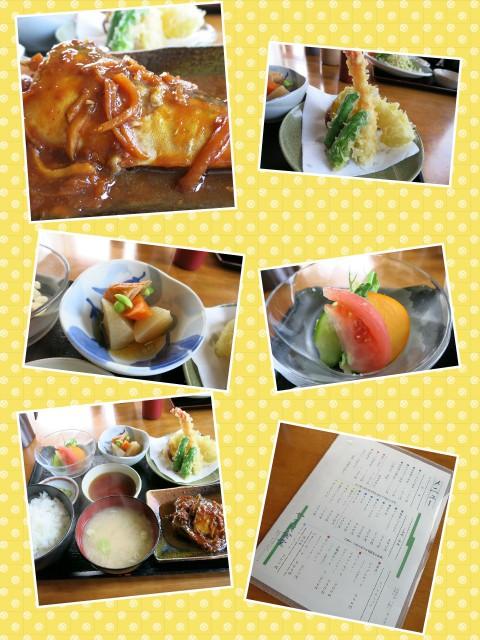 広尾町、やまだ食堂さんで❗サバ味噌煮定食を