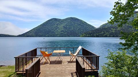 天空の湖…湖水開き ①