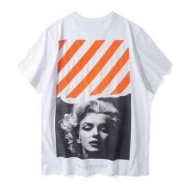 女性受けも良いのオフホワイト コピー 人気Tシャツ!