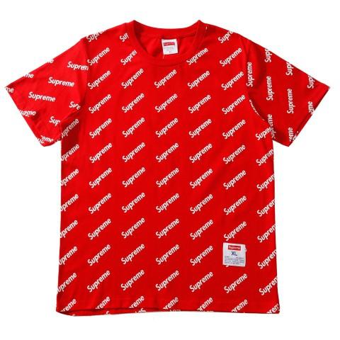 tシャツ シュプリーム ブランド オシャレ半袖とシャネルサングラスのコーデ