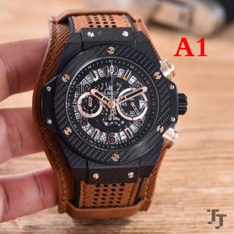 男性用腕時計 3色可選 ウブロ HUBLOT 2017 安心追跡付
