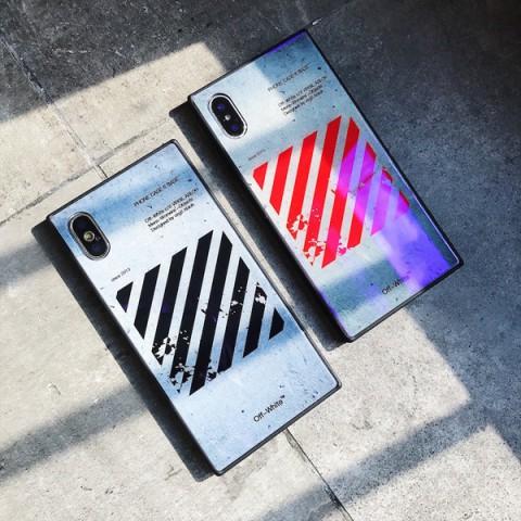 オフホワイト iphone X ケース シュプリーム ストリート系ブランド