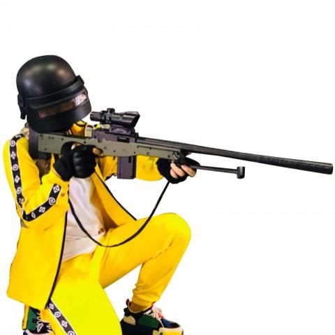 PUBG風 黄色ジャージ コスプレ衣装 コスチューム 変装 ステージ衣装