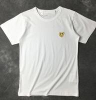 ブランドロゴ刺繍コムデギャルソン 半袖 Tシャツ ユニセックス
