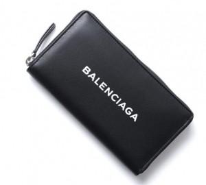 高級 バレンシアガ 財布 BALENCIAGA ファスナー長財布