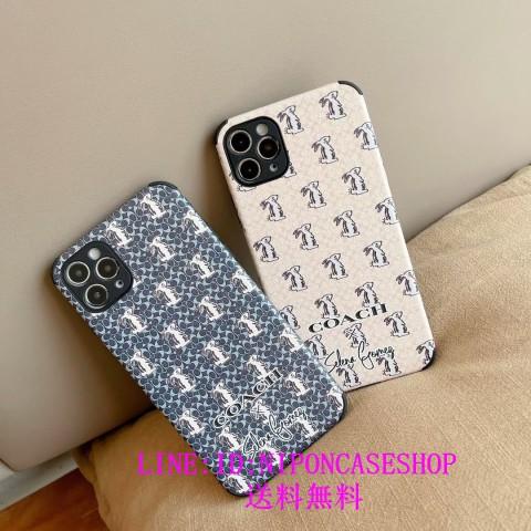 ブランド COACHコーチ iPhone12pro/12mini ケース 可愛い 人気品!