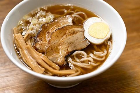 琥珀ラーメン(醤油味)