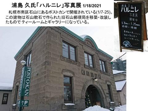 浦島 久さんの「ハルニレ」写真展 札幌・石山で