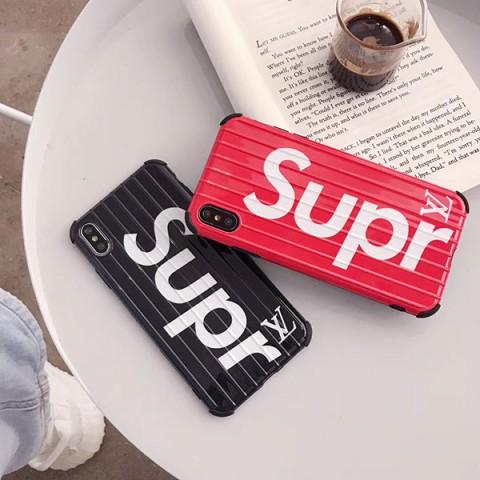 シュプリーム ×LV コラボ iphone XRケース ペア